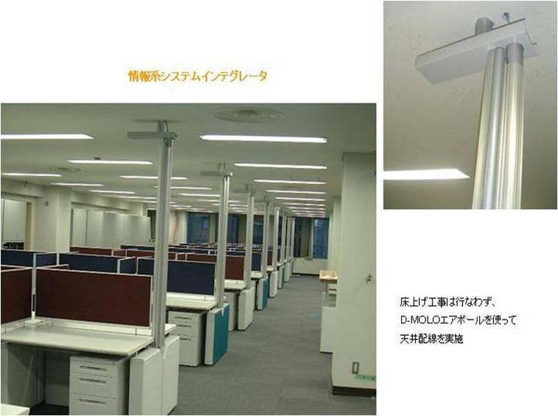 辦公家具-OA辦公屏風-通天柱