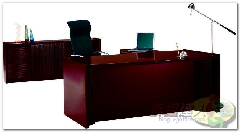 辦公家具-OA辦公主管木桌